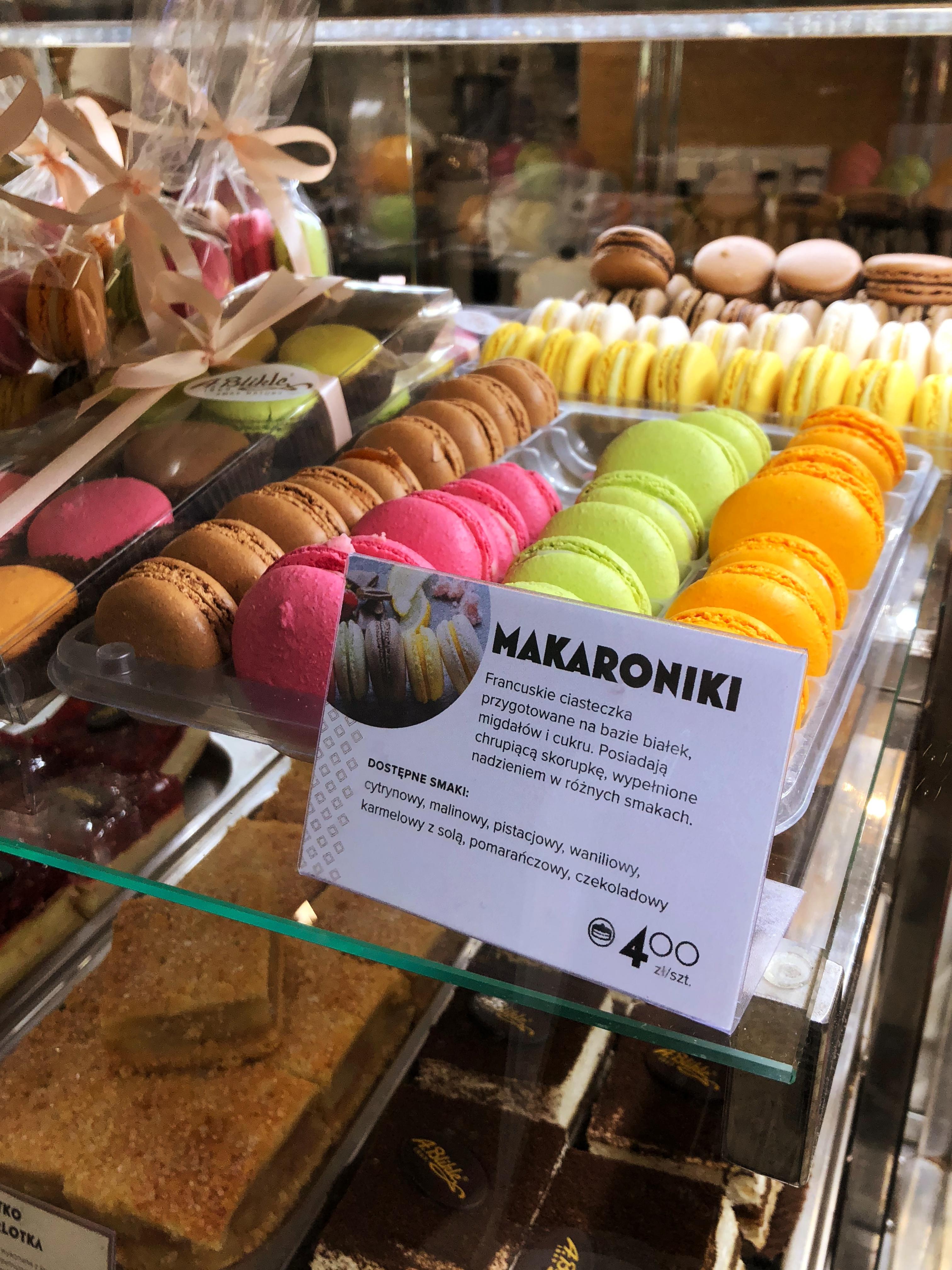 najlepsze makaroniki w Warszawie