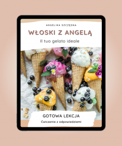 Włoski z Angelą - Il tuo gelato ideale